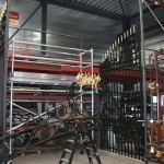 17 Restauratie verguldwerk hekwerk Kasteel Staveren