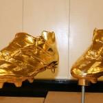 6 gouden voetbalschoenen